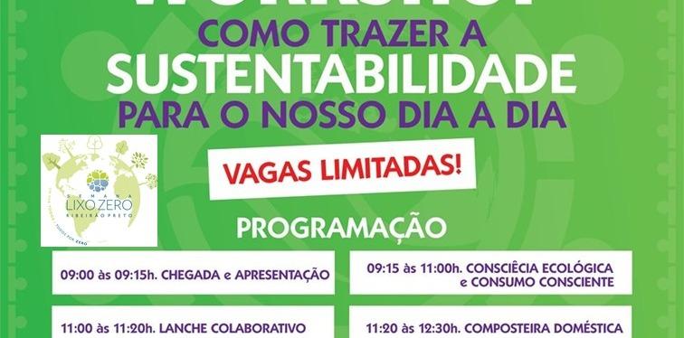 1º Workshop: Como Trazer a Sustentabilidade para o nossodia-a-dia
